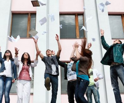 Group of students to complete academic year